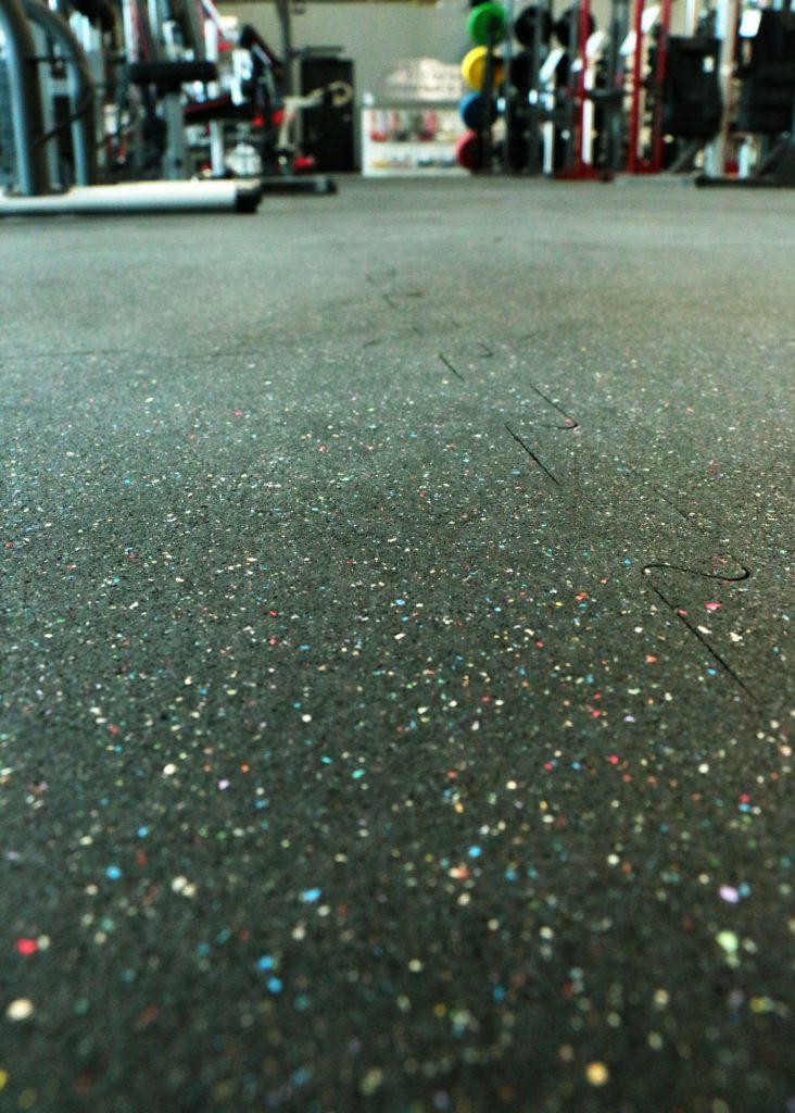 Confetti rubber Flooring
