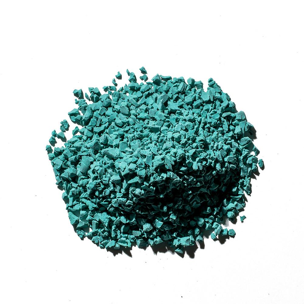 teal big - rubber flooring color