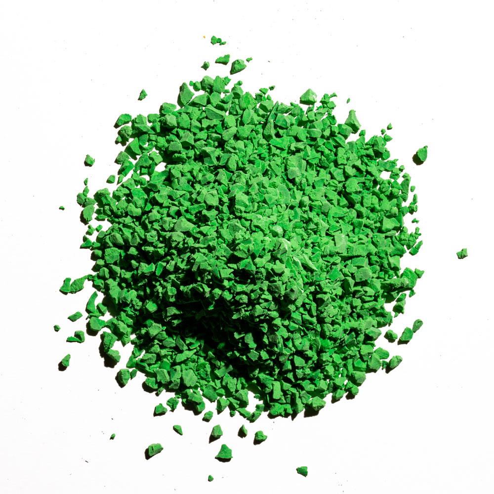 green - rubber flooring color