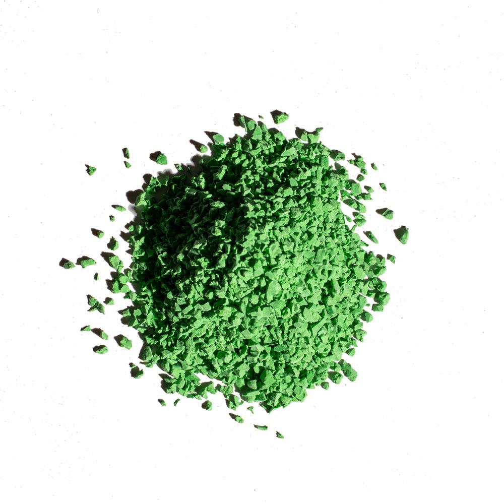 light green - rubber flooring color