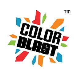 color blast logo
